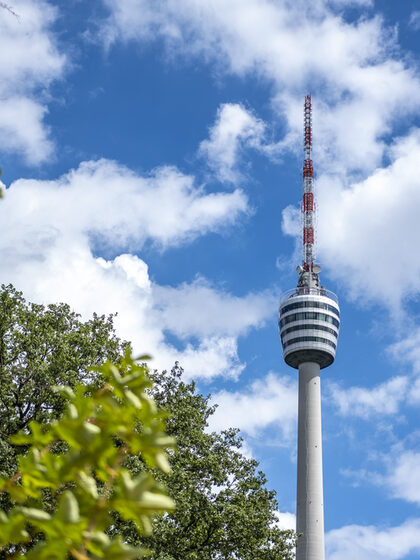 Television tower of Stuttgart.